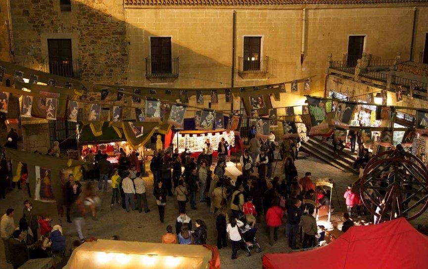 mercado medieval caceres